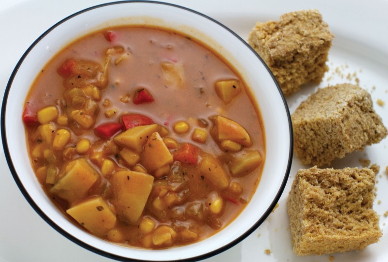Creole Cornbread