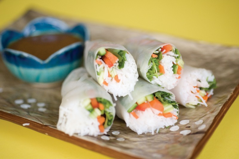 Asian Rice Paper Rolls