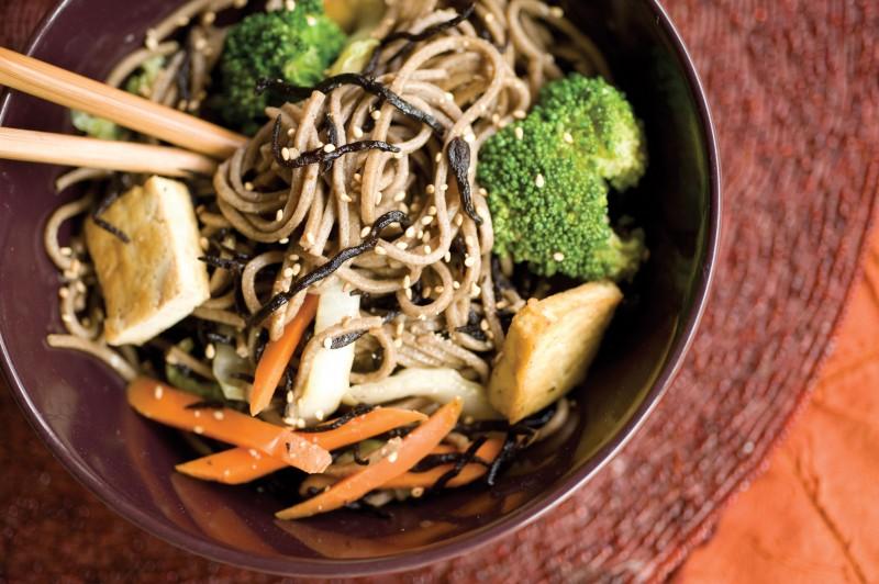 Land and Sea Soba Noodles