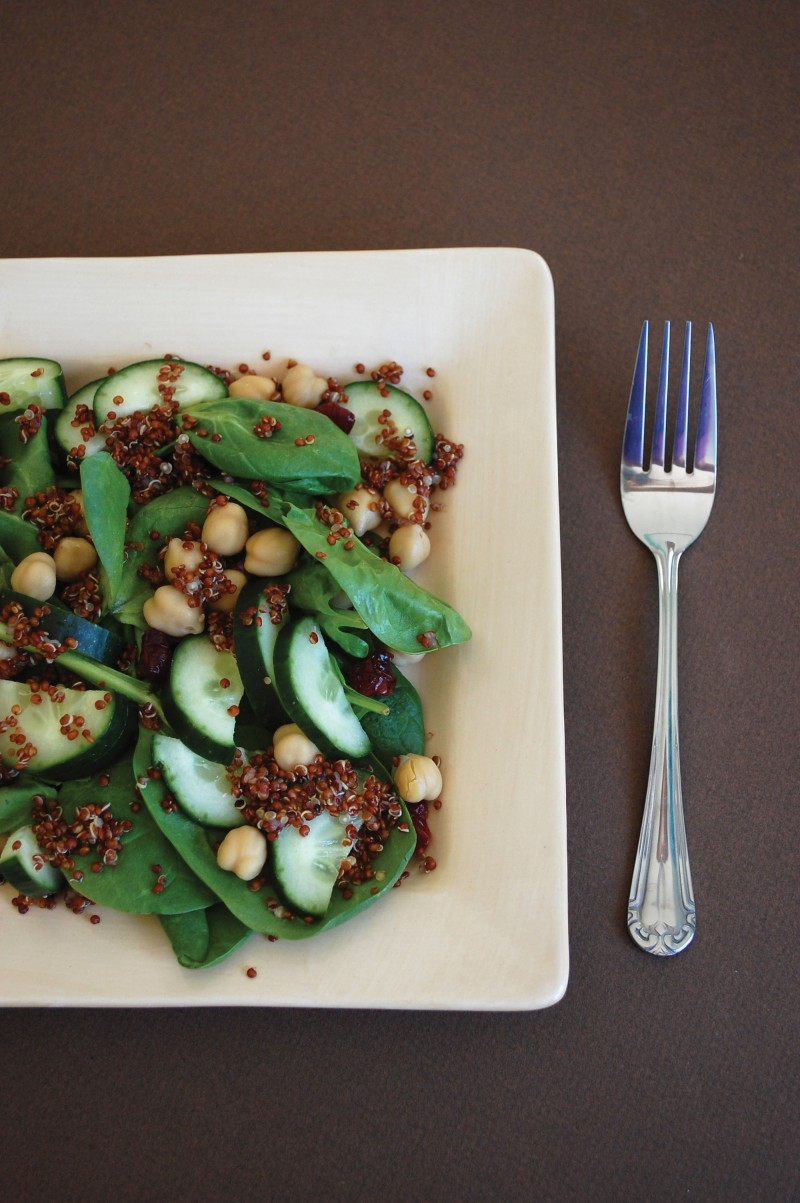Cherry Quinoa Salad