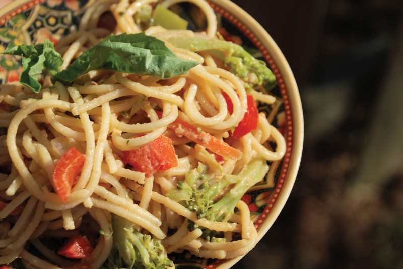 Nutty Noodles with Vegetables
