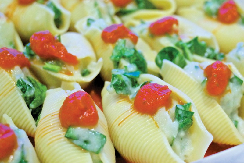 Festive Stuffed Shells
