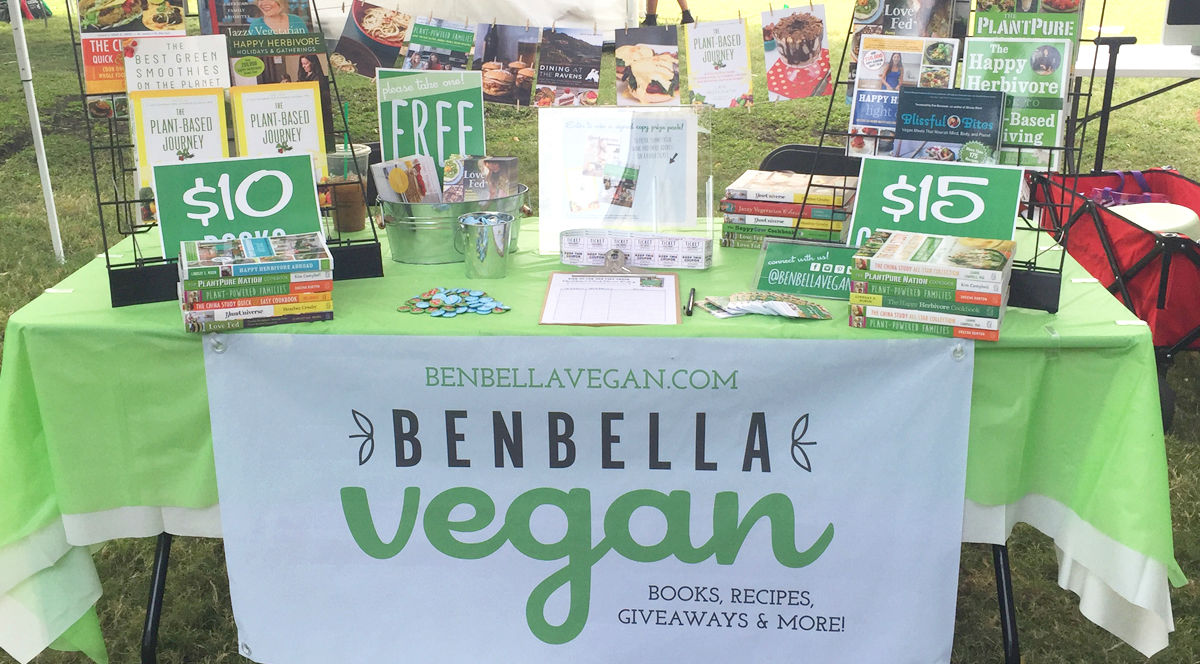 veggie fair table