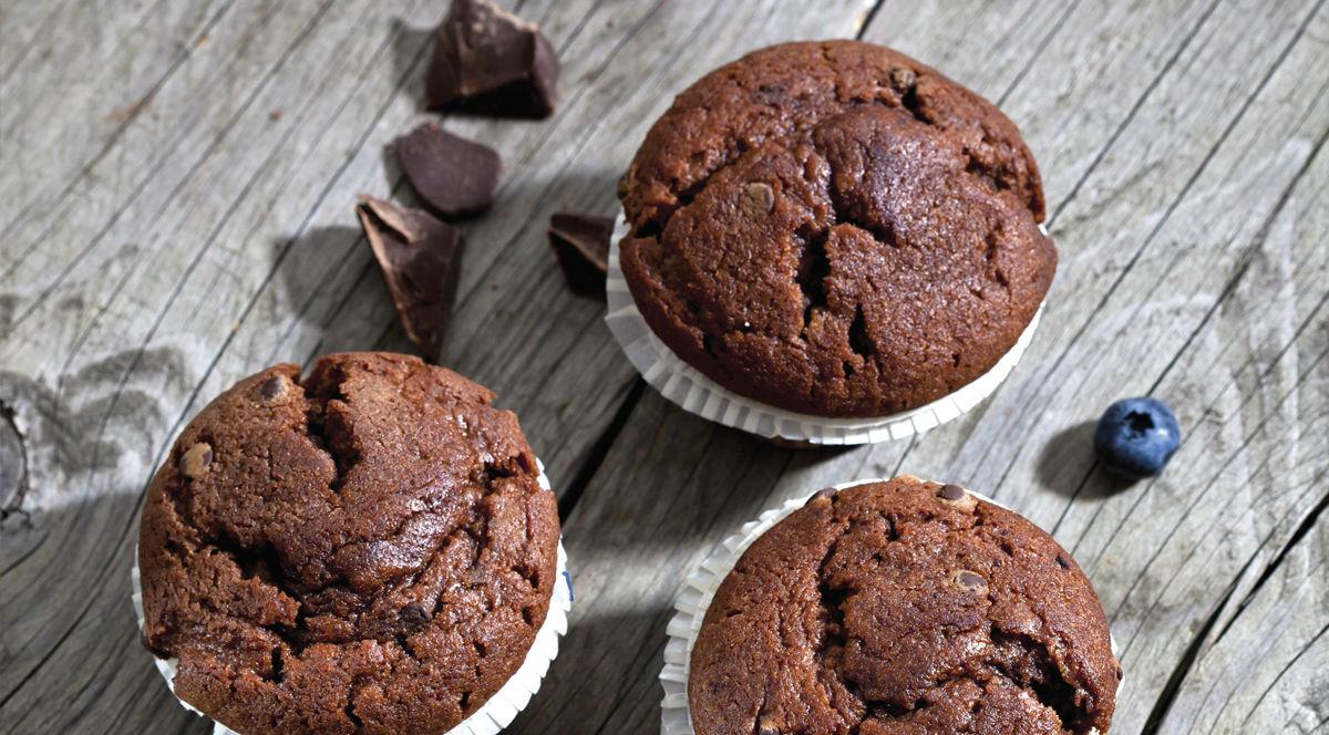 Chocolate Blueberry Muffins   BenBella Vegan