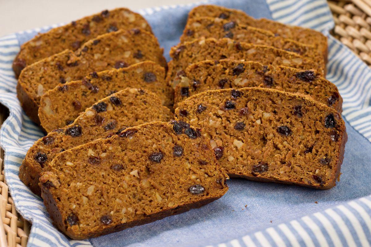 pumpkin-raisin-bread