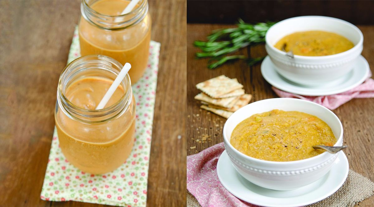 sniffle-soup-and-pumpkin-pie-smoothie