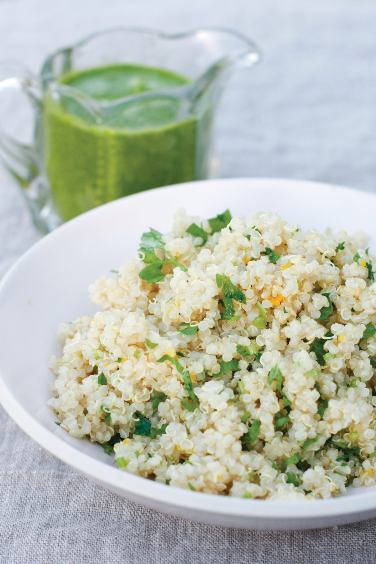 Fluffy Quinoa Salad