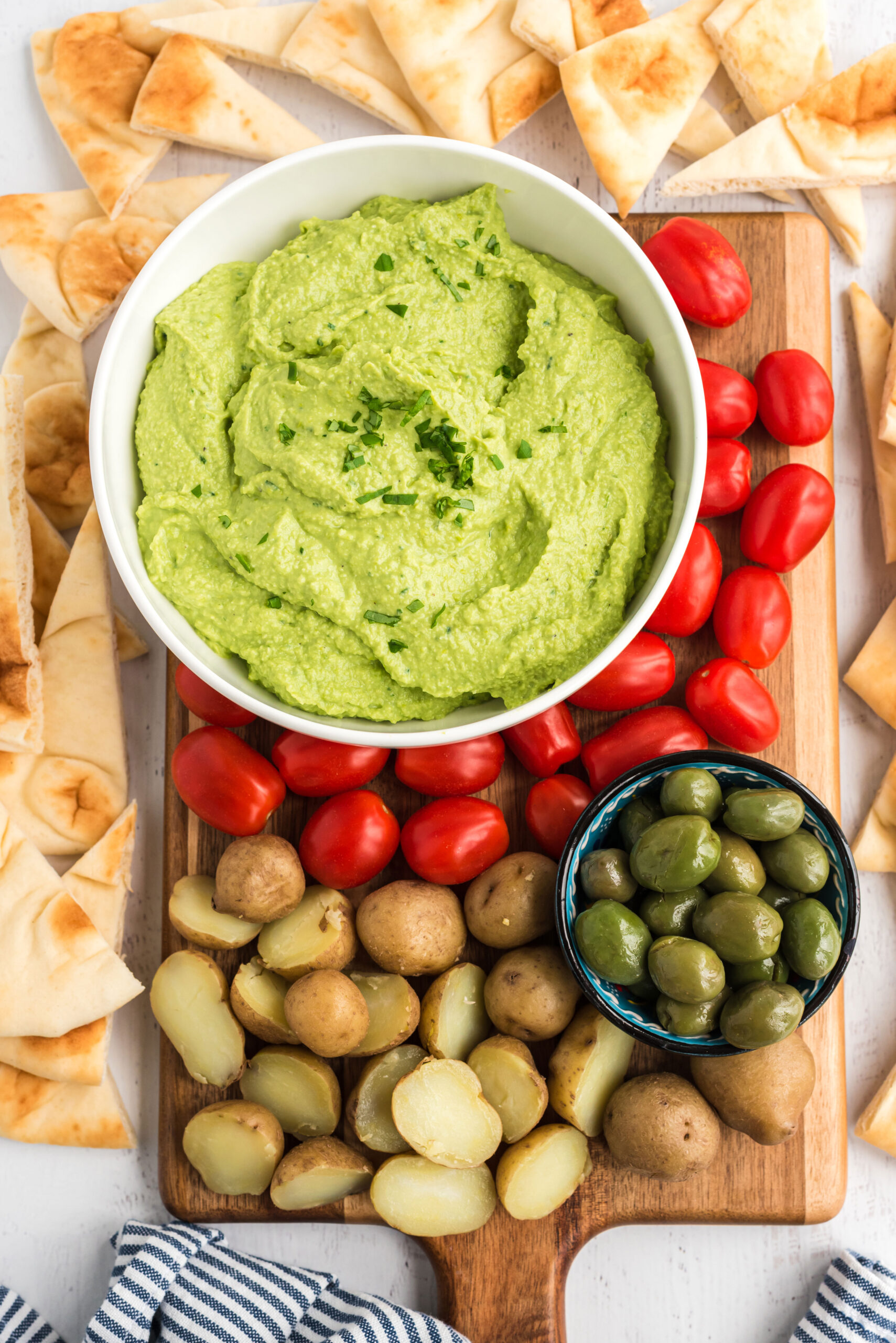 Avo-mame Hummus